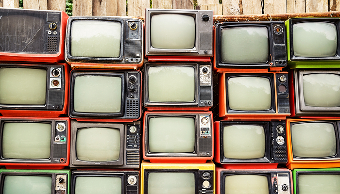 Old TVs - Technology and Generation X