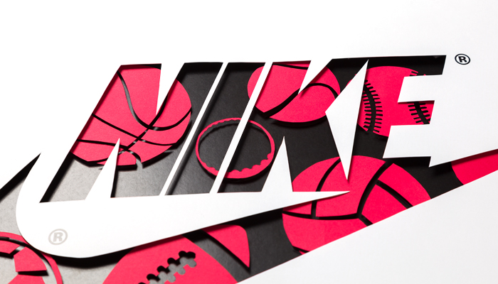Nike work in progress logo