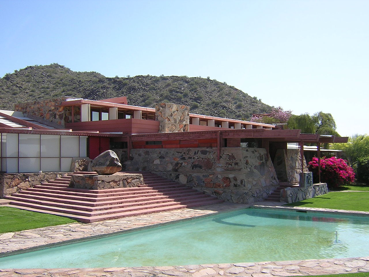 ... Frank Lloyd Wright School of Architecture. Taliesin West