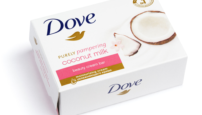 Dove Bar of Soap in Packaging