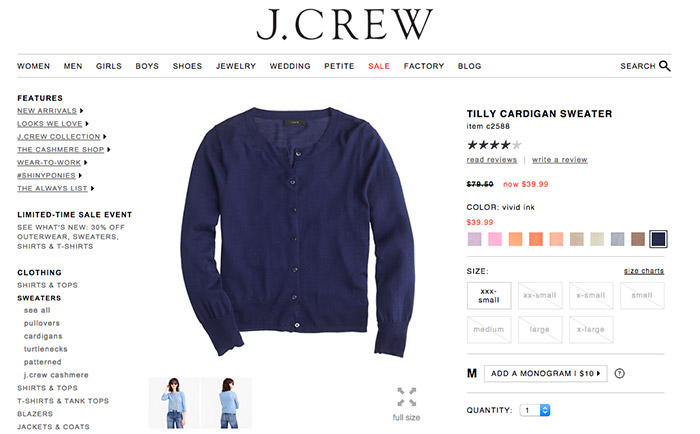 Tilly Sweater J. Crew