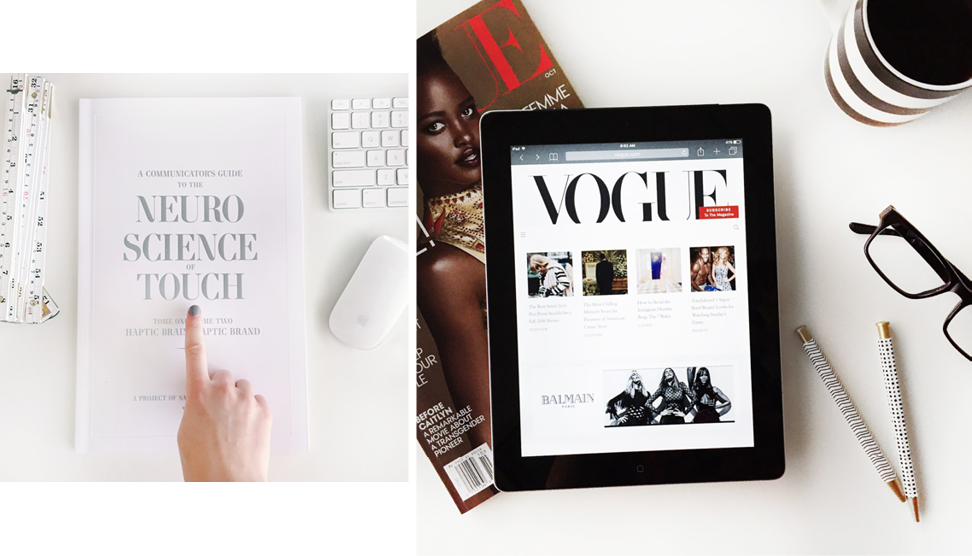 the case for print versus digital marketing - Vogue
