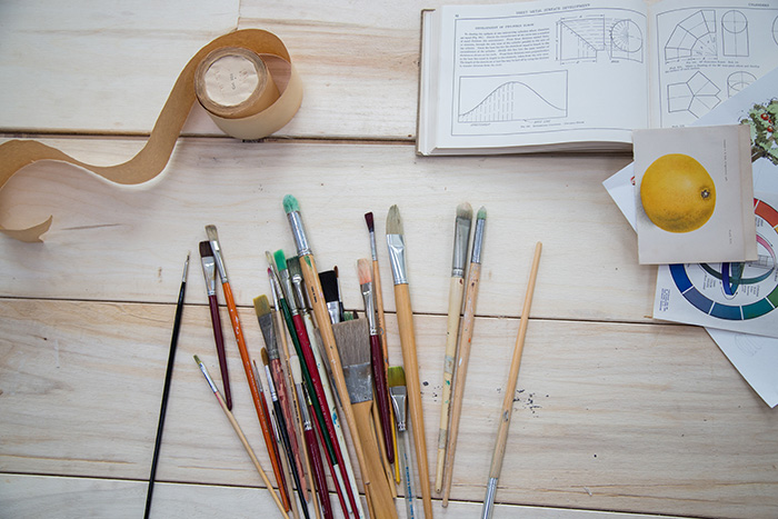 Pencils and creative tools
