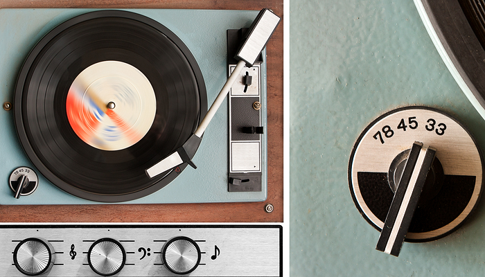 Record Player - Technology and Generation X