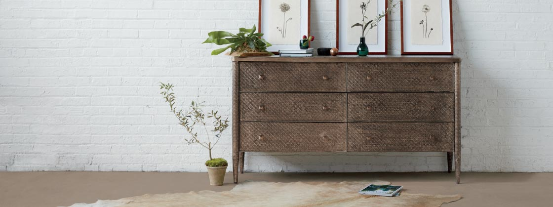 Arhaus Furniture Dresser