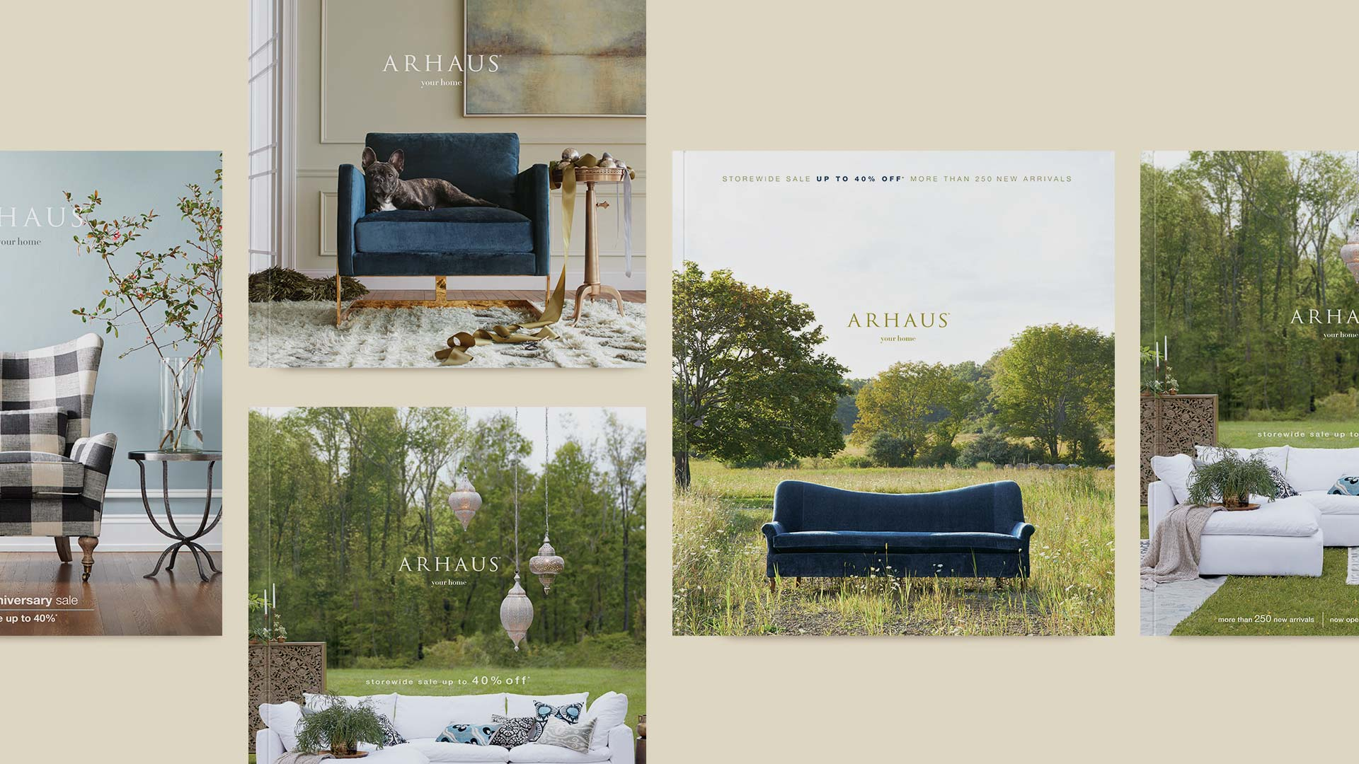 Arhaus Catalog Covers