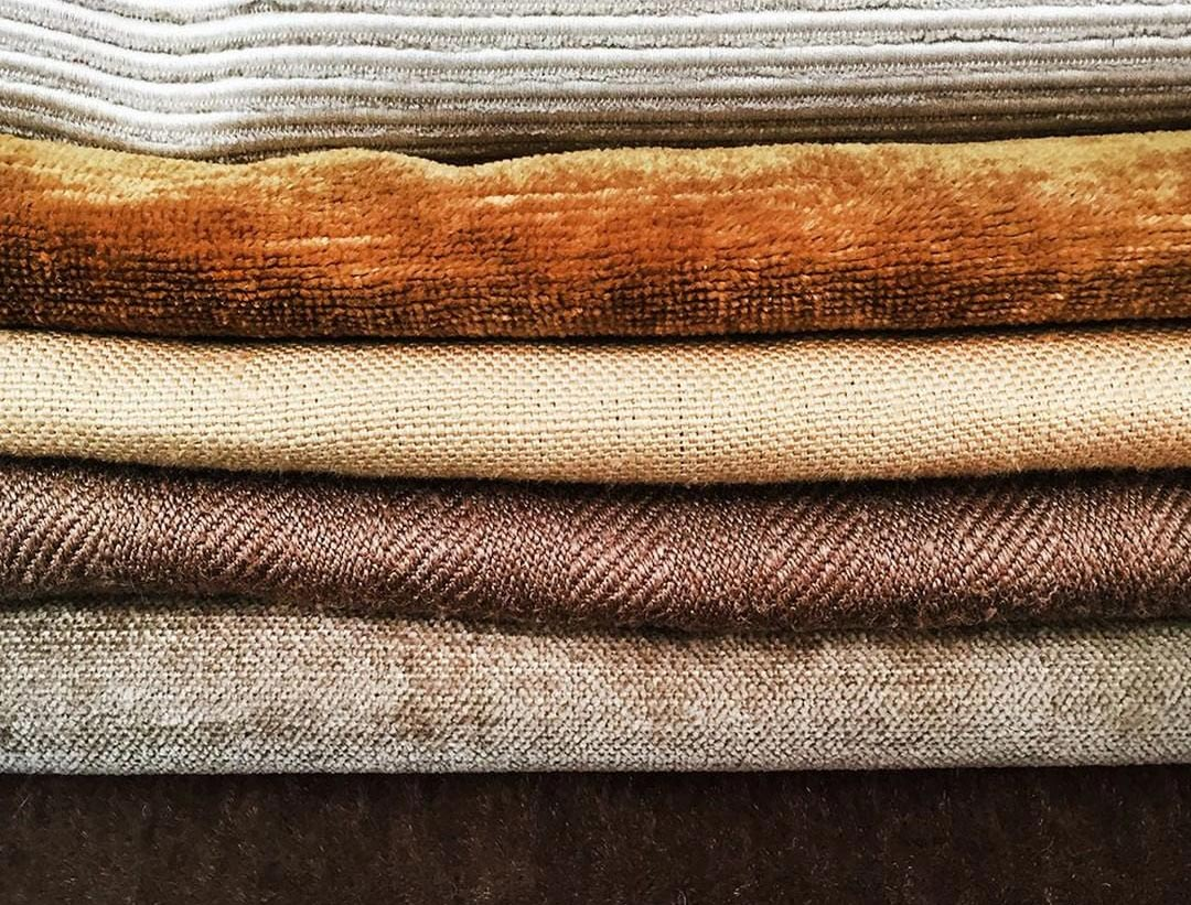 Layered Neutral Fabrics