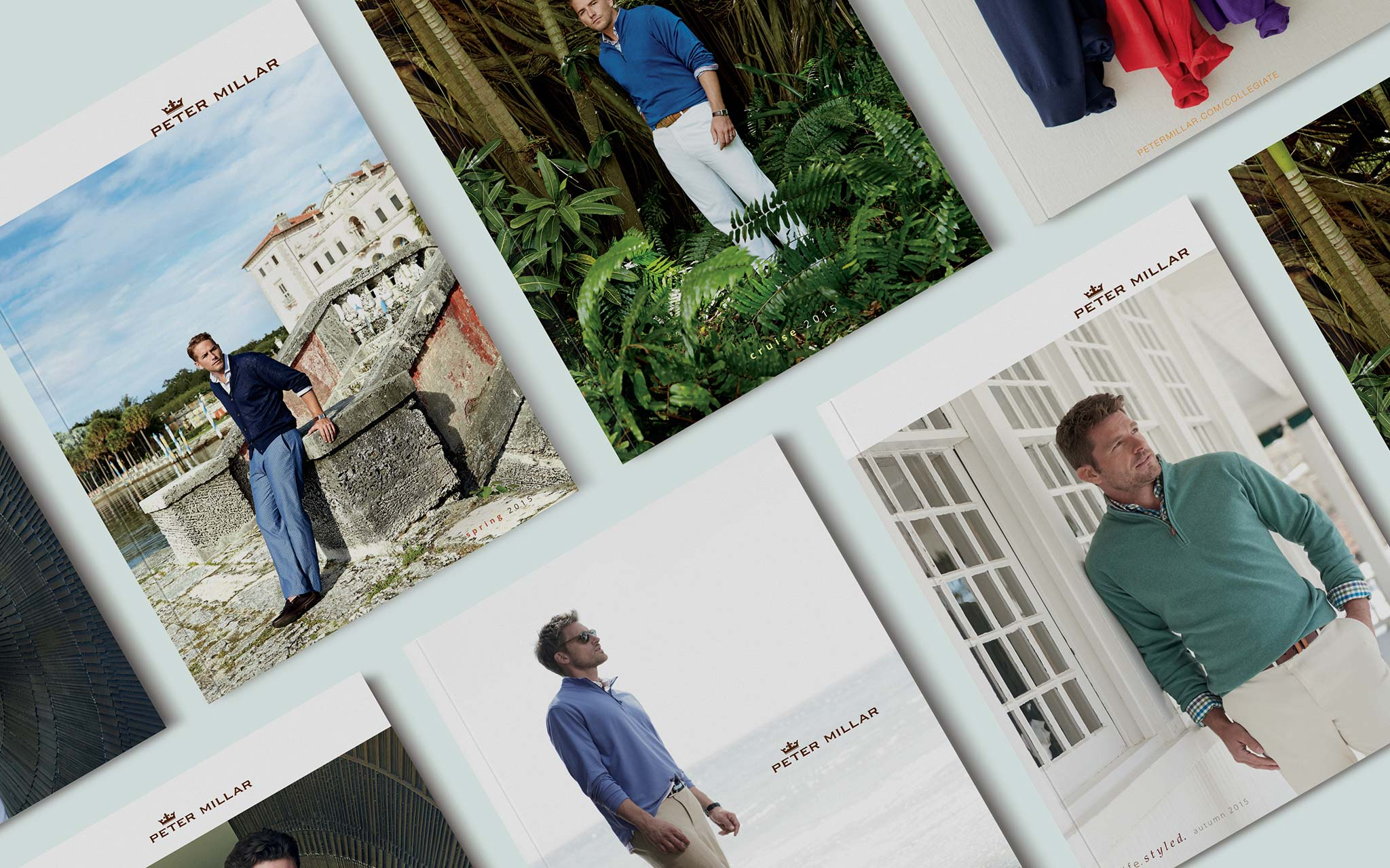 Peter Millar Catalog Covers
