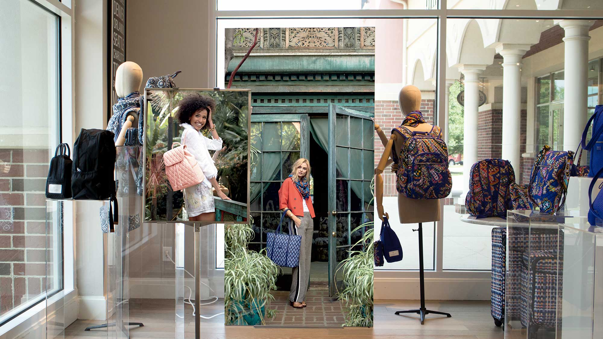 Vera Bradley Store Interior with Marketing