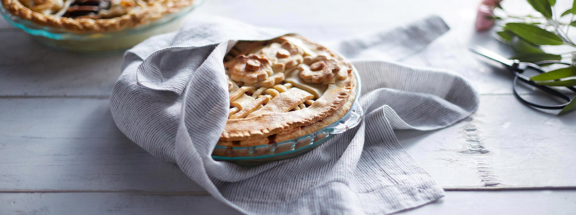 Pyrex Pie Plate and Case Study Page