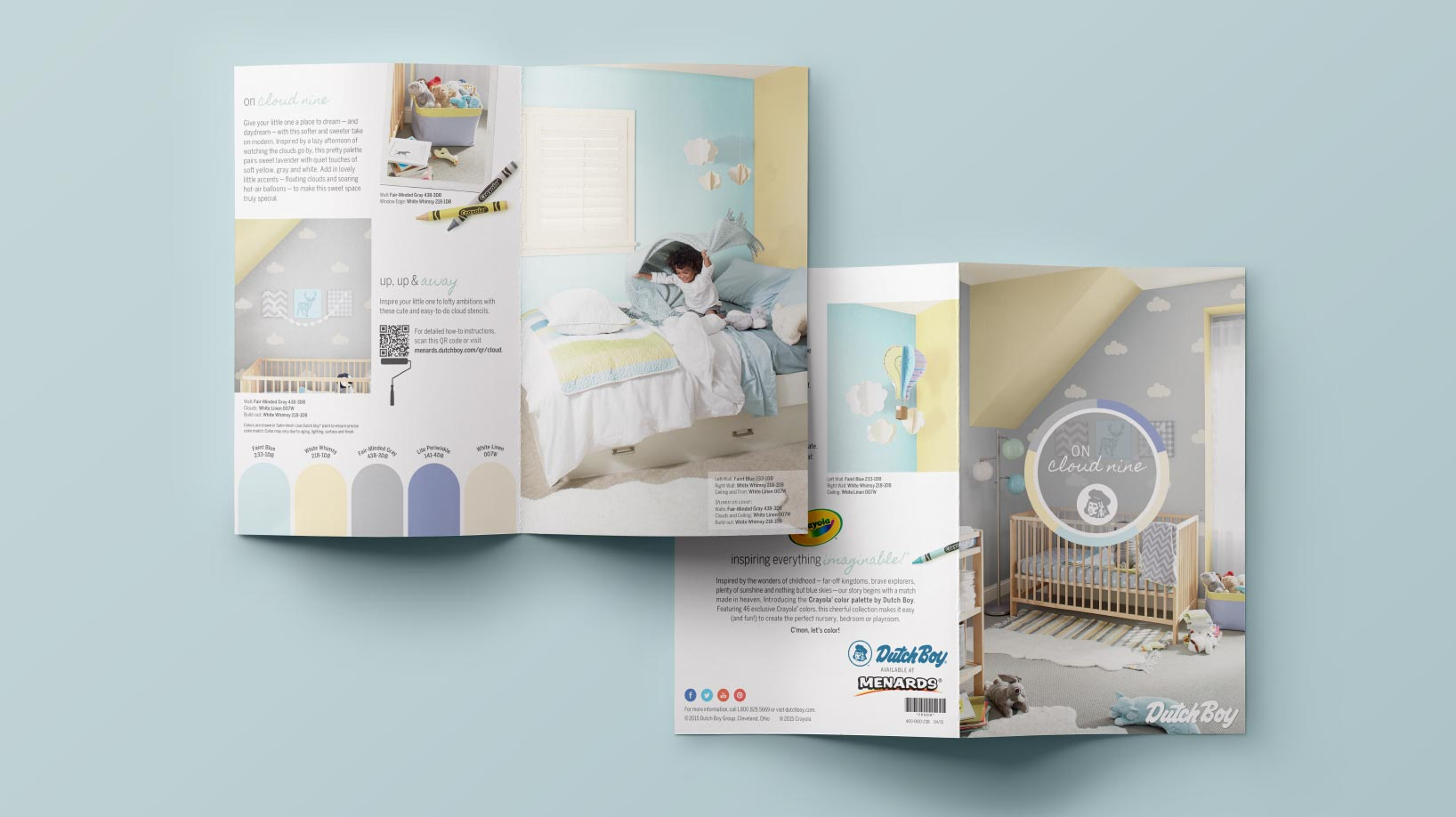Dutch Boy brand collateral catalog