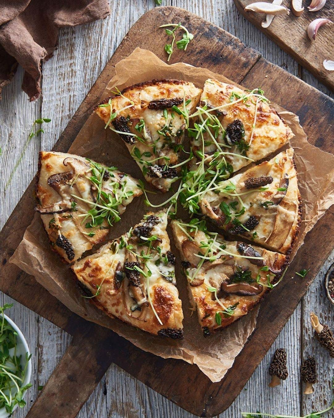 King Arthur Flour Instagram Image of a Pizza
