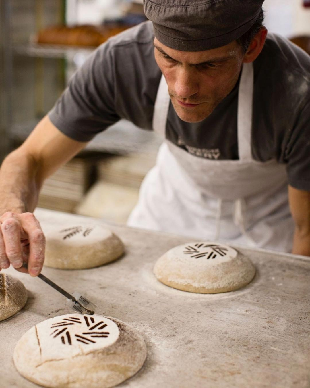 King Arthur Flour Instagram Image of a Baker